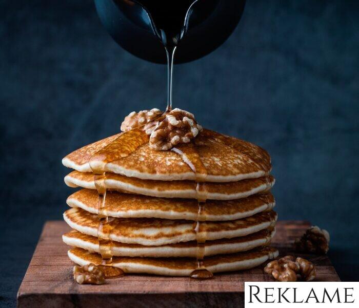 Amerikanske pandekager og banapandekager